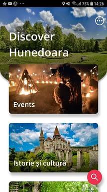 Aplicația Discover Hunedoara a fost lansată